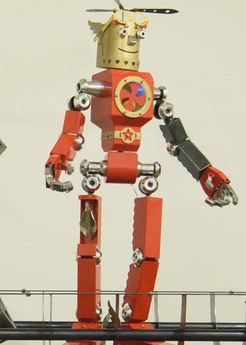 세종문화회관 미술관에서 열리고 있는 전은 기술 진보에 따른 인간과 로봇의 공존을 흥미롭게 보여주고 있다.