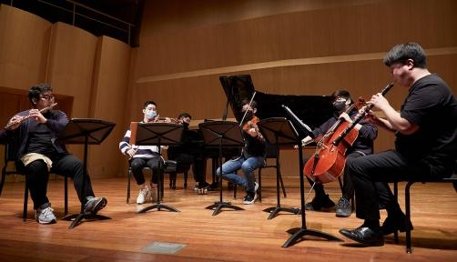 한국의 젊은 음악가들이 만드는 2021년 '세종 체임버시리즈'.