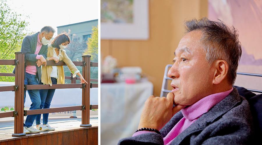 무대 디자이너 이엄지와 그의 아버지인 만화가 이현세를 만나 서로 믿어주고 지켜주는 부녀의 이야기를 들었다.
